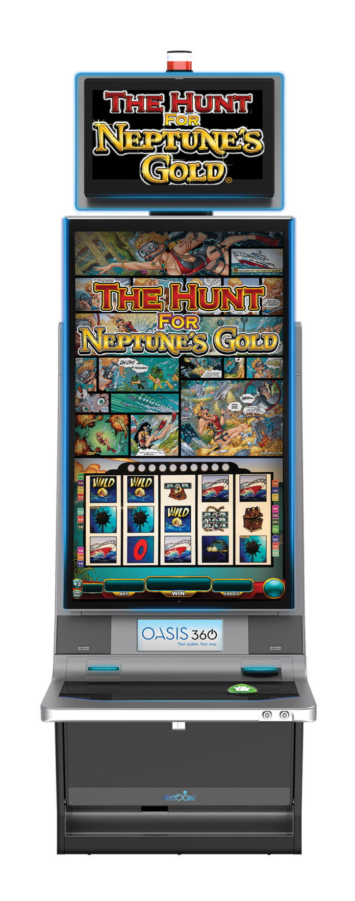Aristo The Hunt for Neptunes Gold