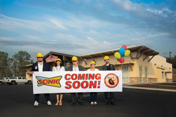 Picayune Rancheria of Chukchansi Indians Break Ground on Sonic Franchise Restaurant