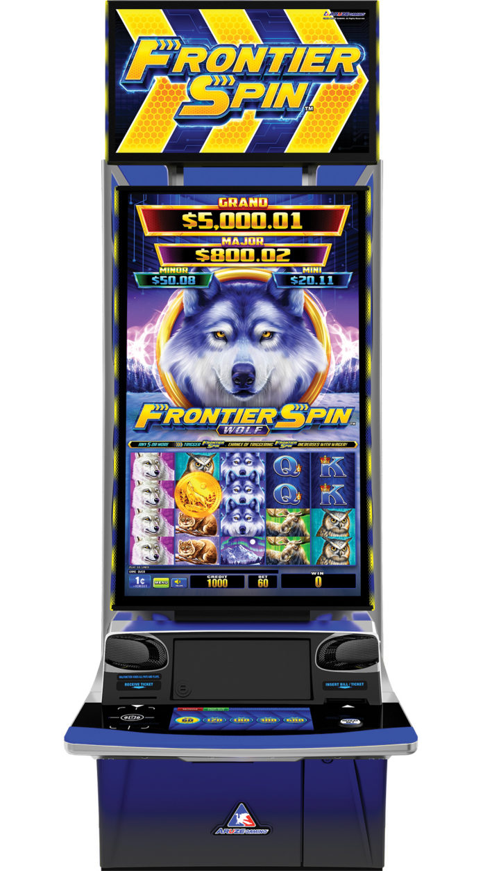 Aruze Frontier Spin Wolf