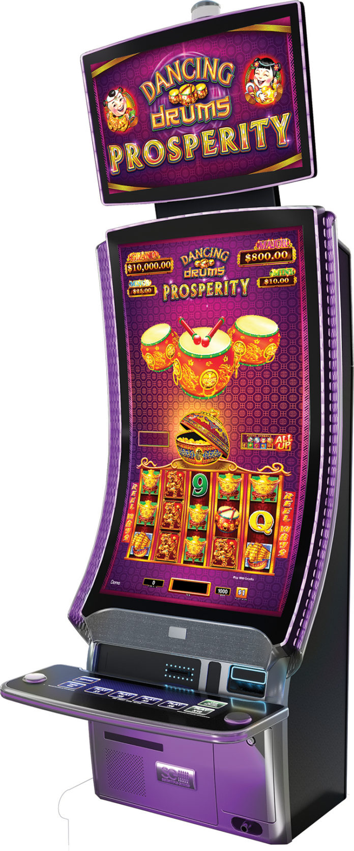 Scientific Games Dancing Drums Prosperity