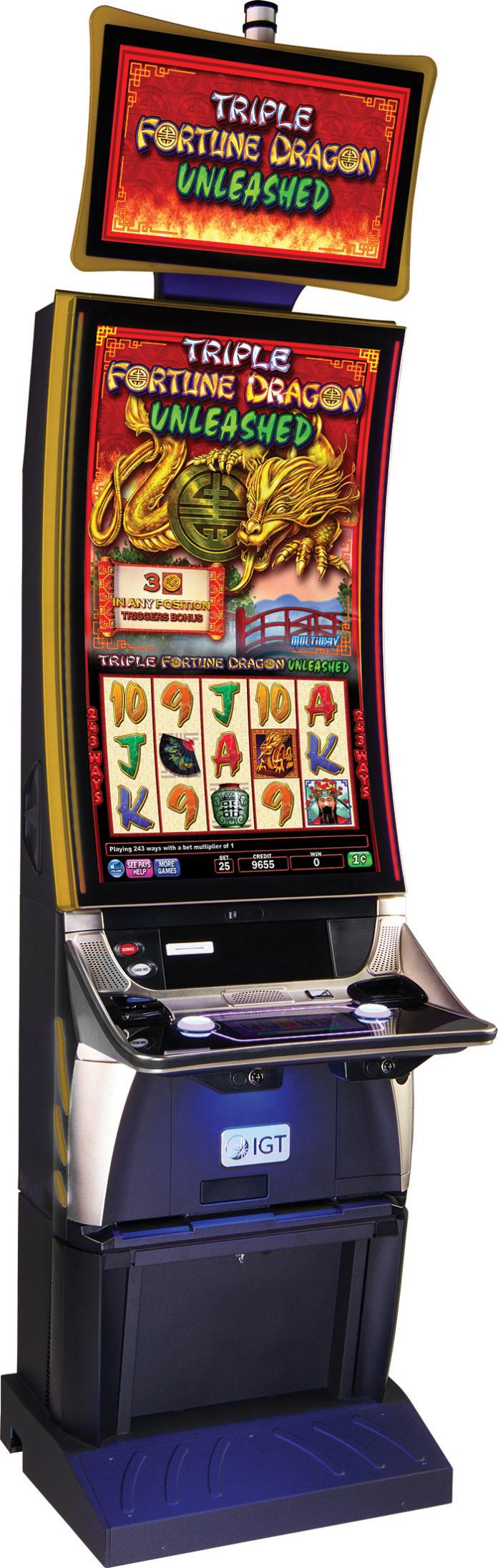 IGT Triple Fortune Dragon Unleashed Bingo