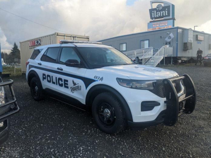 Cowlitz Police Car