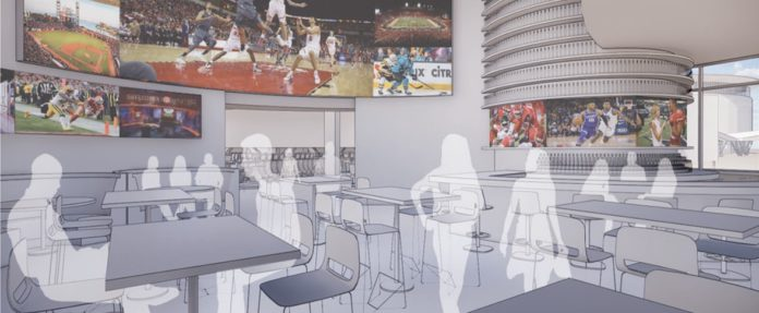 Tachi Palace New Sports Bar Rendering