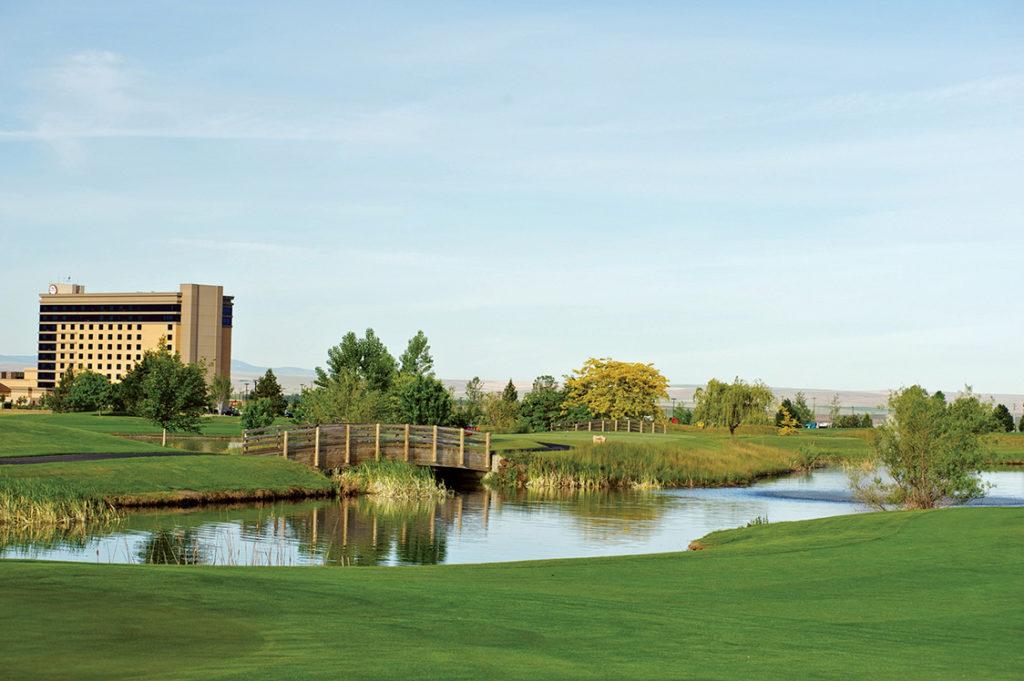 Wildhorse Resort and Casino Golf Course 2