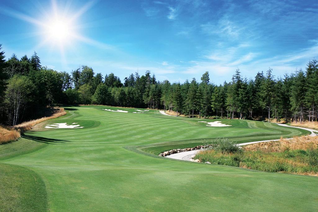 Salish Cliffs Golf Course 1