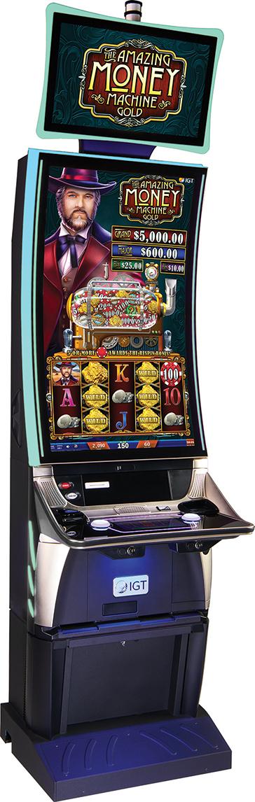 IGT Amazing Money Machine Gold Sapphire