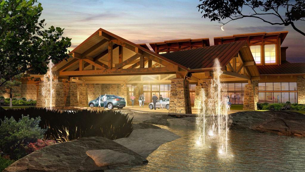 Eagle Mountain Casino Rendering