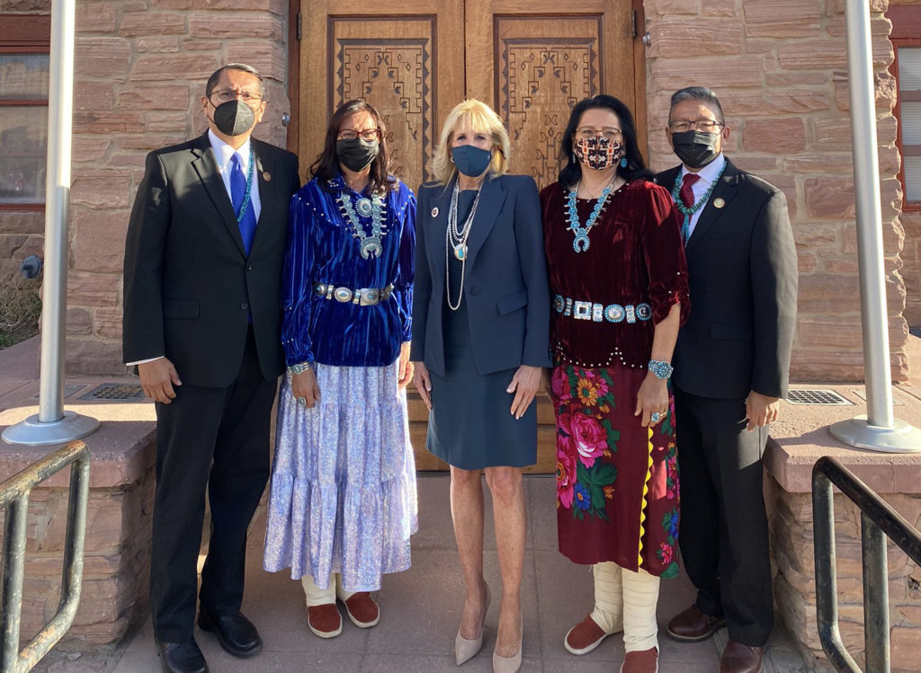 Navajo Nation First Lady Dr. Jill Biden