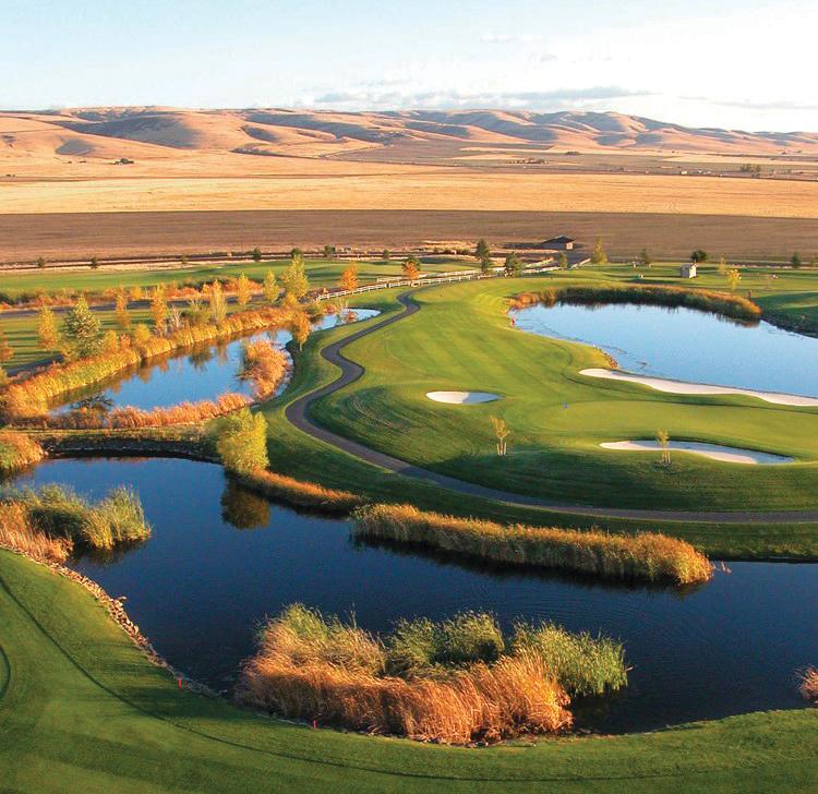 Wildhorse Resort & Casino Golf Course 1