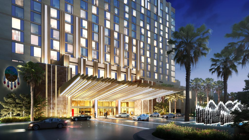 San Manuel Casino resort entrance