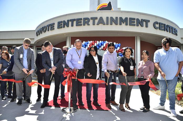Tachi Entertainment Center Ribbon Cutting