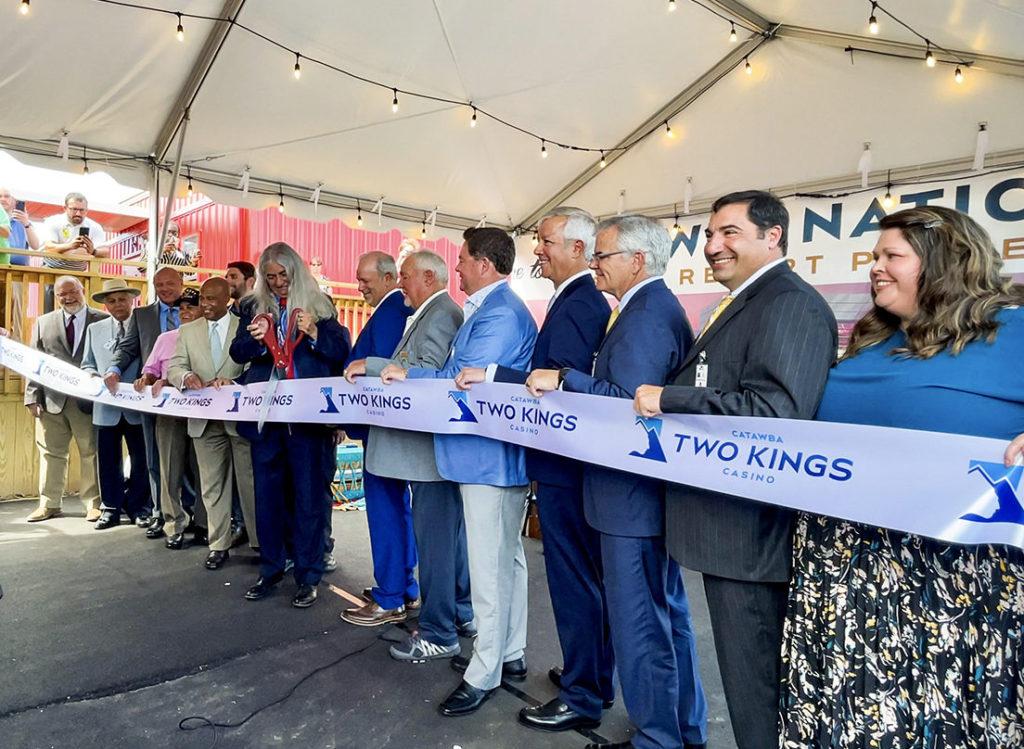 Catawba Two Kings Casino Ribbon-Cutting