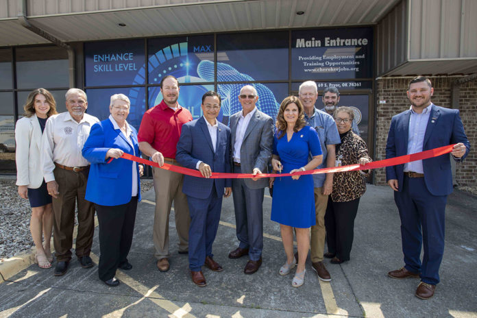 Cherokee Career Services Ribbon Cutting