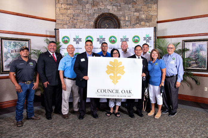 Council Oak Healthcare Naming Ceremony