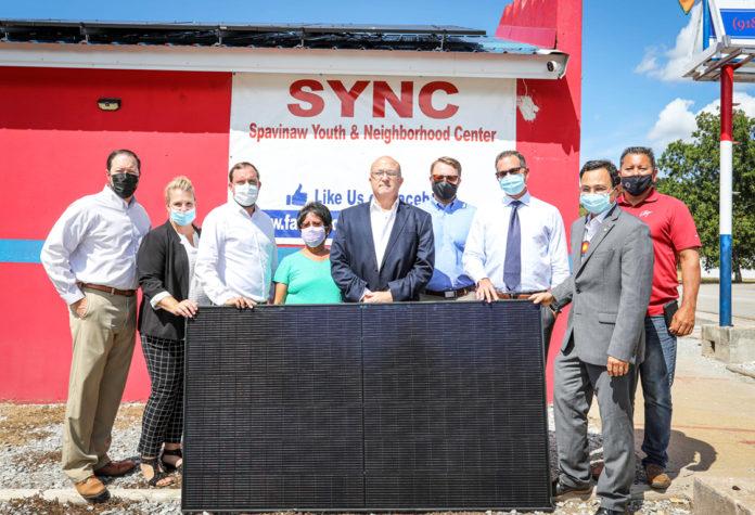 Cherokee Spavinaw Youth Solar Panel Installation