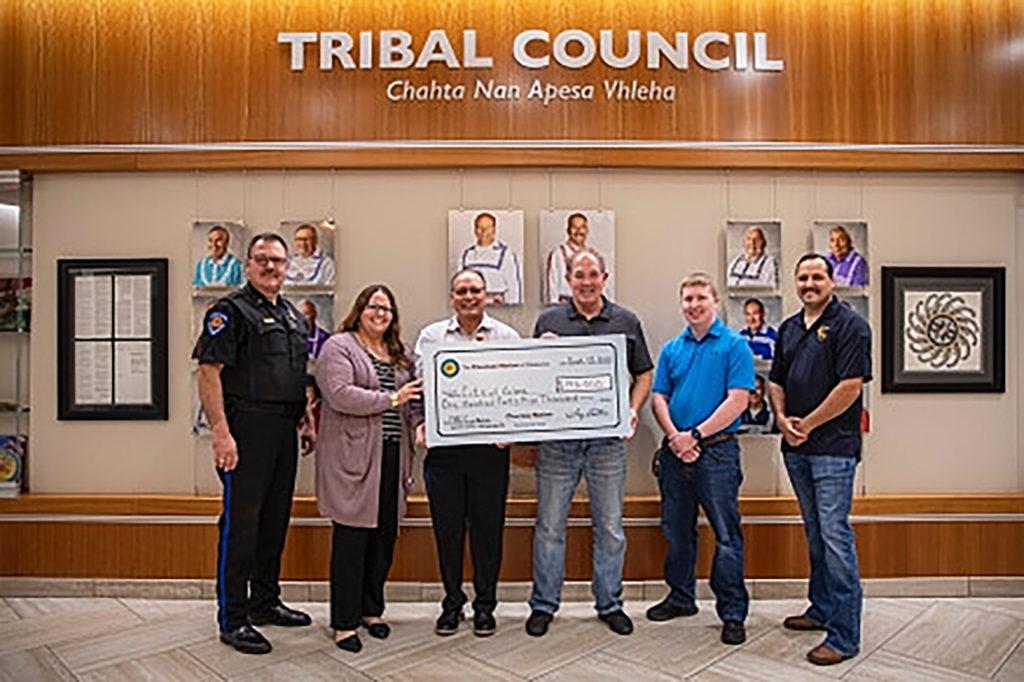 Choctaw Donation to Calera City
