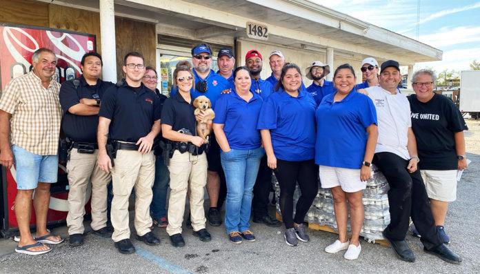 Coushatta Hurricane Ida donations