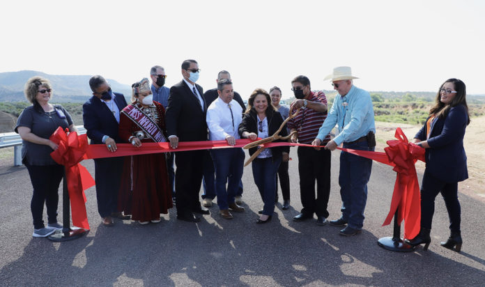 Navajo Nation Bridge Opening