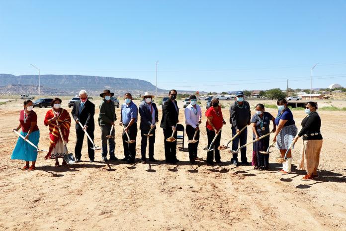 Navajo Nation Wellness Center Groundbreaking