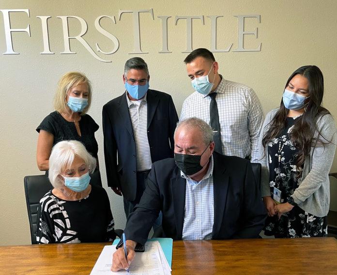 Osage PRT signing