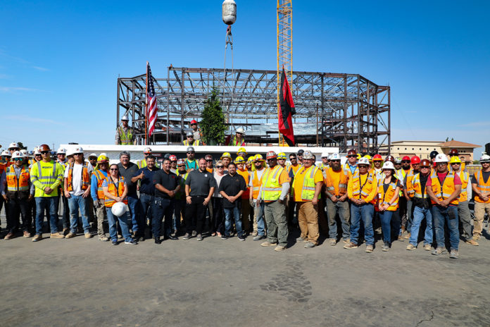 Thunder Valley Topping Off Ceremony