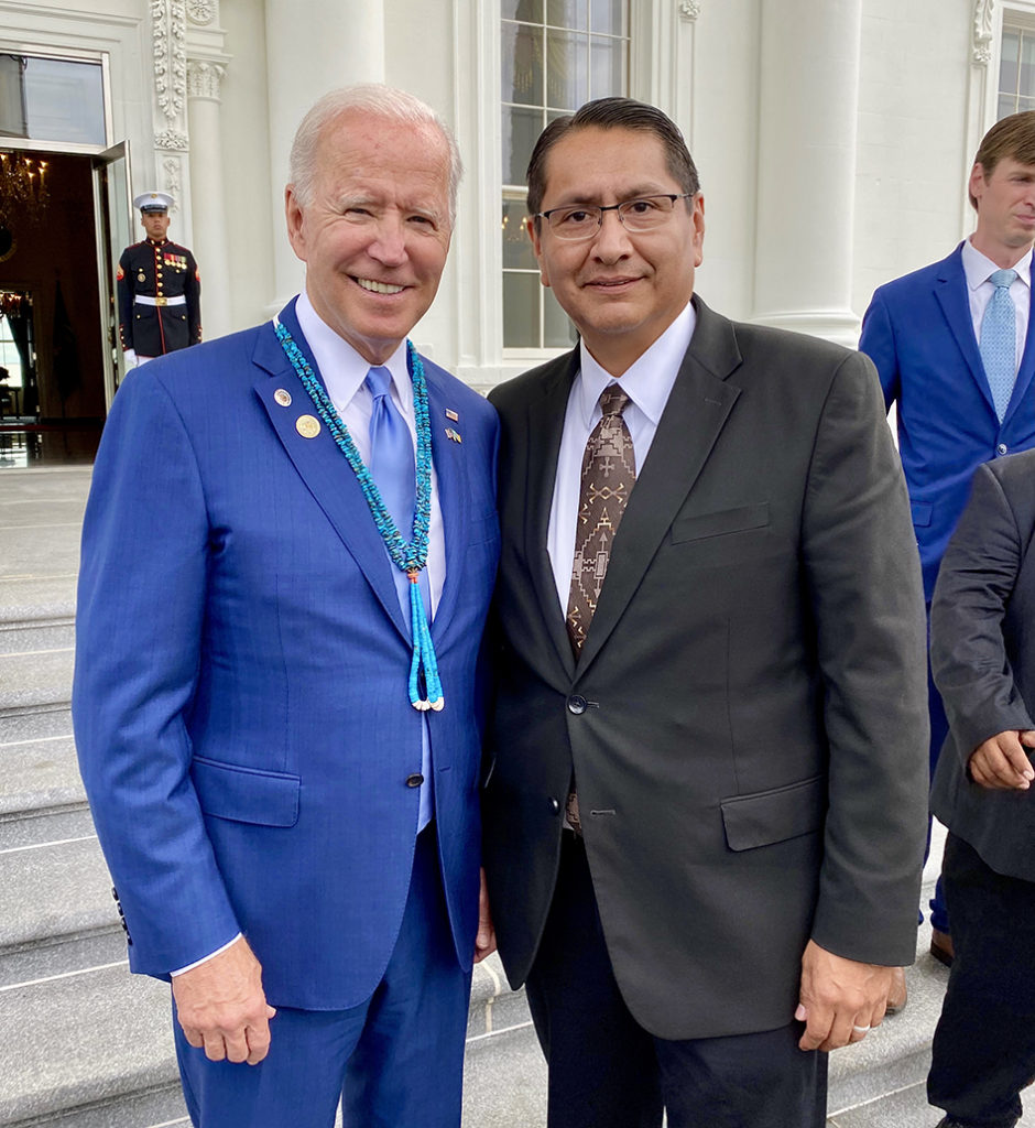 Biden and Nez