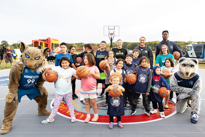 Minnesota Timberwolves and Lynx the Prairie Island Indian Community celebrate Indigenous Peoples' Day